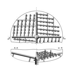 Колпачковая система НРУ типа паук
