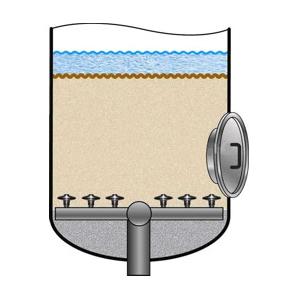 Нижнее распределительное устройство на бетонном основании